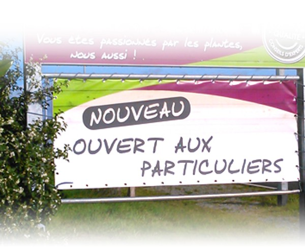 Impression bâche trampoline 44 Nantes Pornic Machecoul