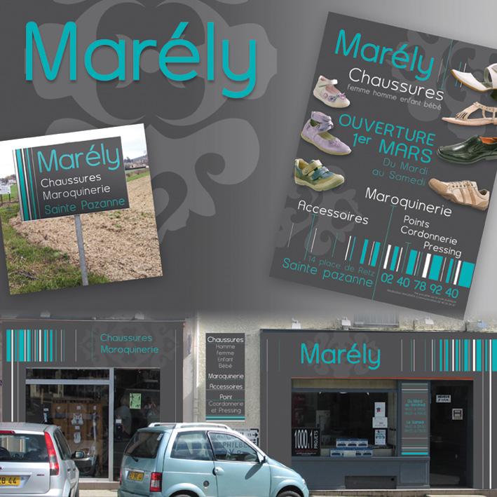 Panneau Commerce Pays de Retz - Nantes et Machecoul, région nantaise