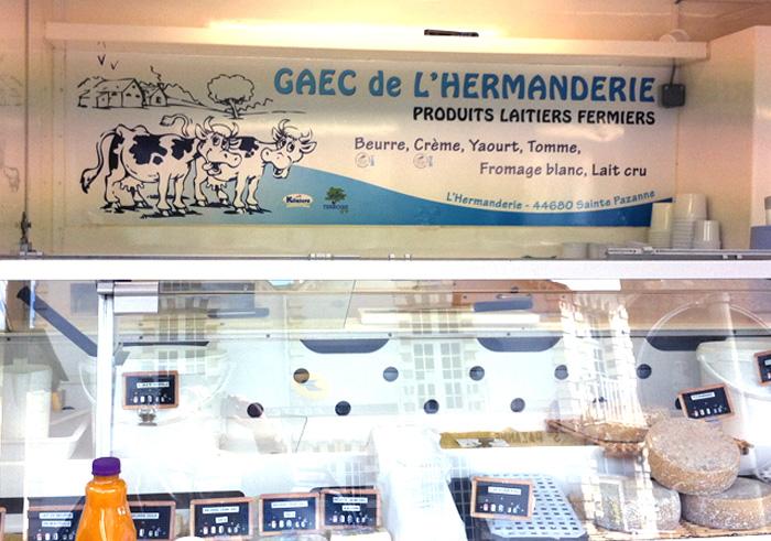 Panneau intérieur véhicule de commerce ambulant 44 Nantes