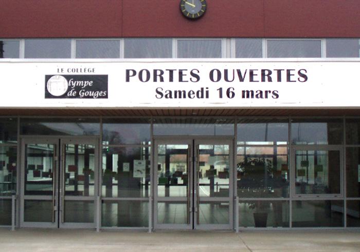 Banderole Nantes bache 44 - banderole imprimee Pornic 44