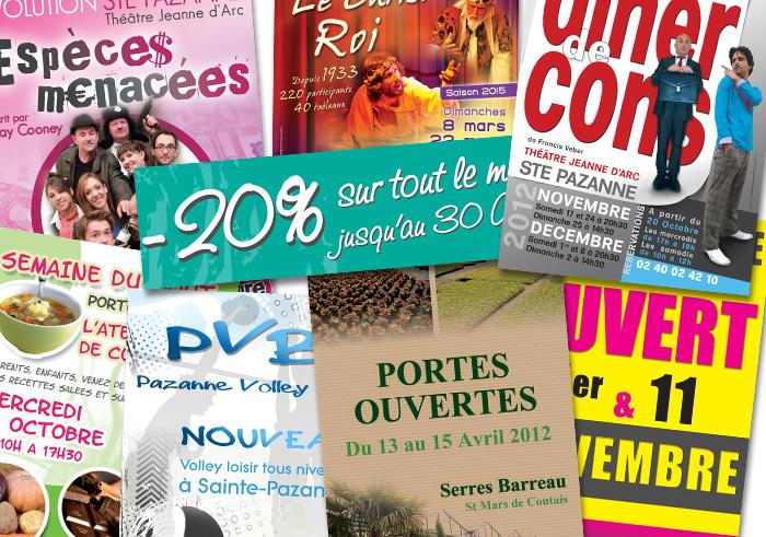 Carte de visite à Nantes – Brochure tract Nantes Pornic Pays de Retz : Magenta communication : cartes de visite, brochures et communication à très bons prix