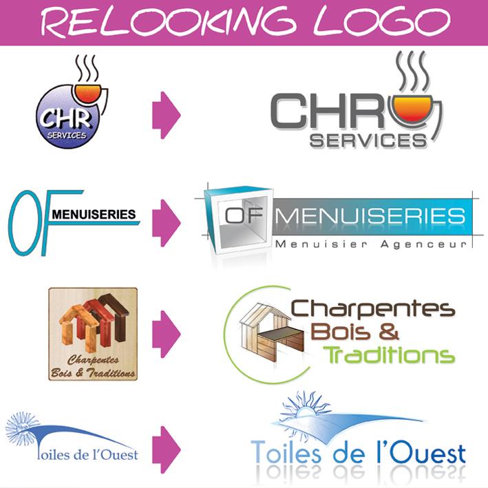 Relooking logo Nantes Magenta Communication