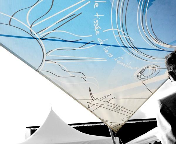 Voile ombrage photo imprimee nantes - sur mesure - Impression numérique voile ombrage à Nantes Pornic